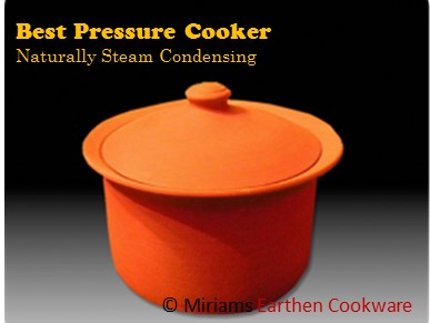 Conventional metal rice cookers vs Miriam's Earthen Cookware (MEC) rice cooker!